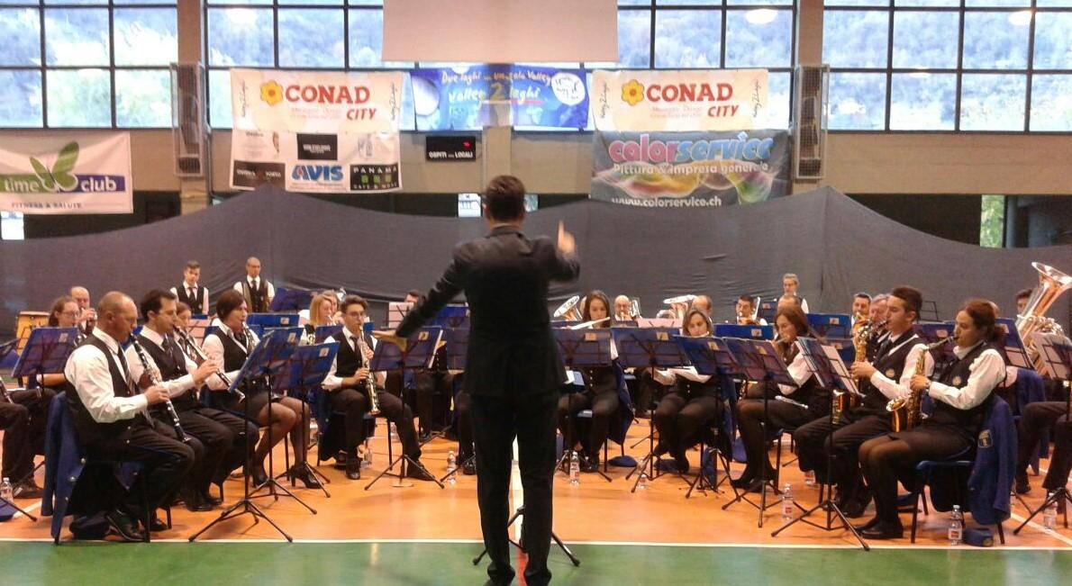 Il gran finale della Filarmonica S.Cecilia Porlezza