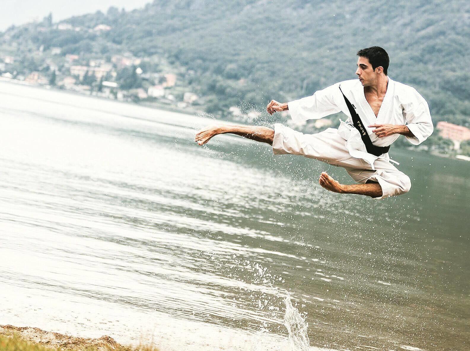 Il Ceresio e il karate: intervista a Gabriele Caccialanza