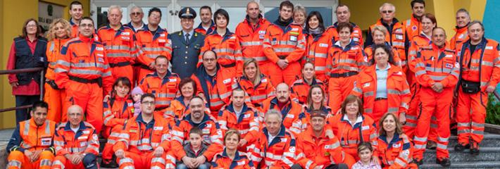 L'impegno volontario della Croce Azzurra Porlezza