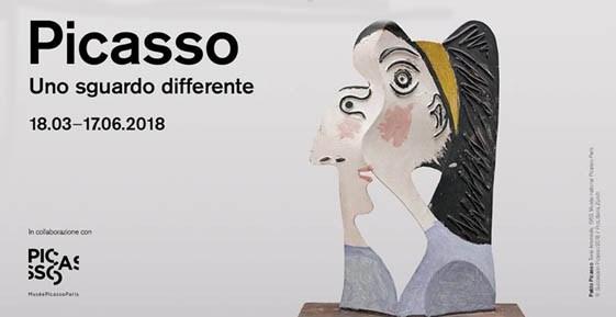 """""""Picasso. Uno sguardo differente"""" al LAC di Lugano"""