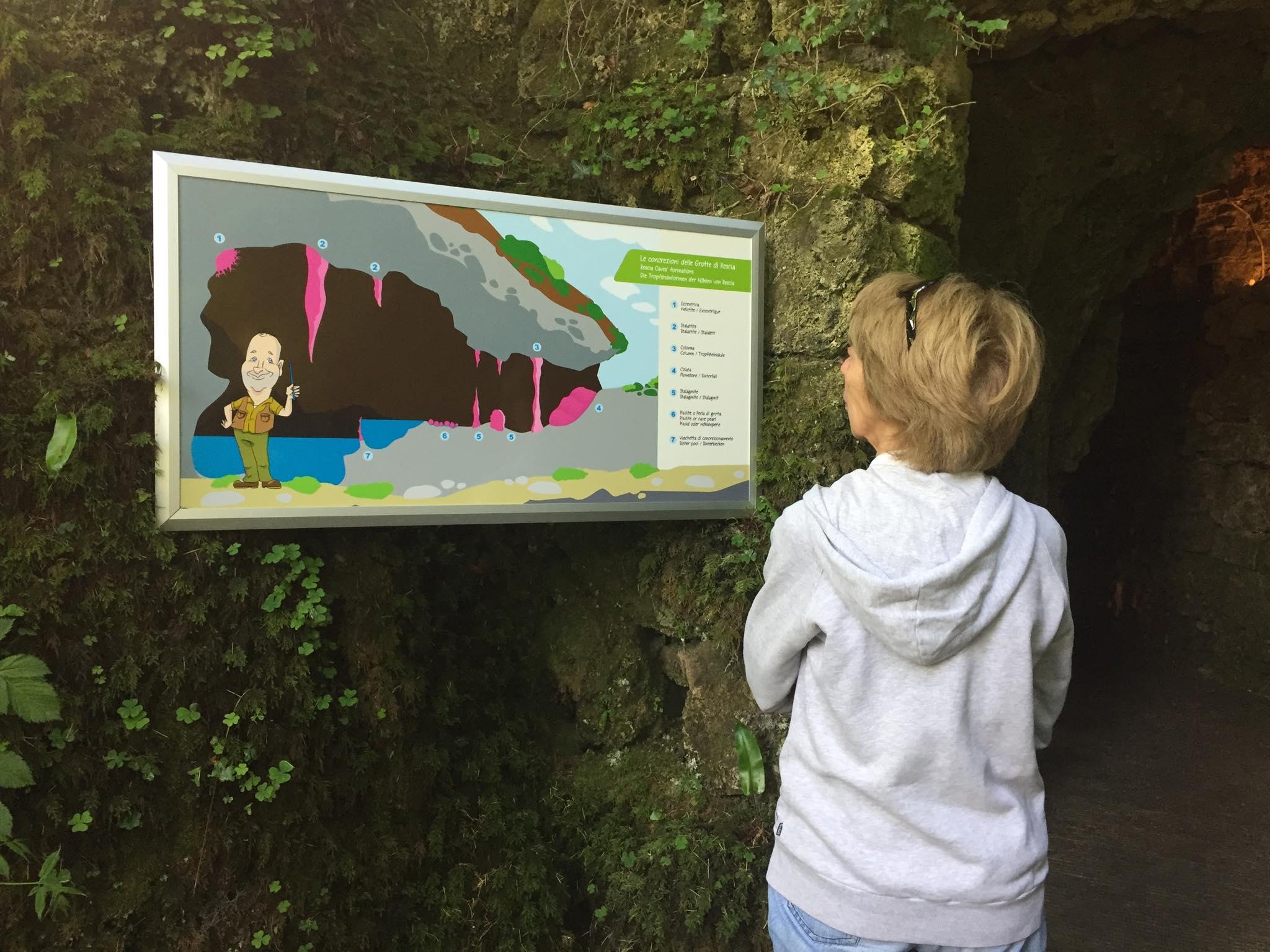 Grotte di Rescia: un percorso creativo per raccontarle