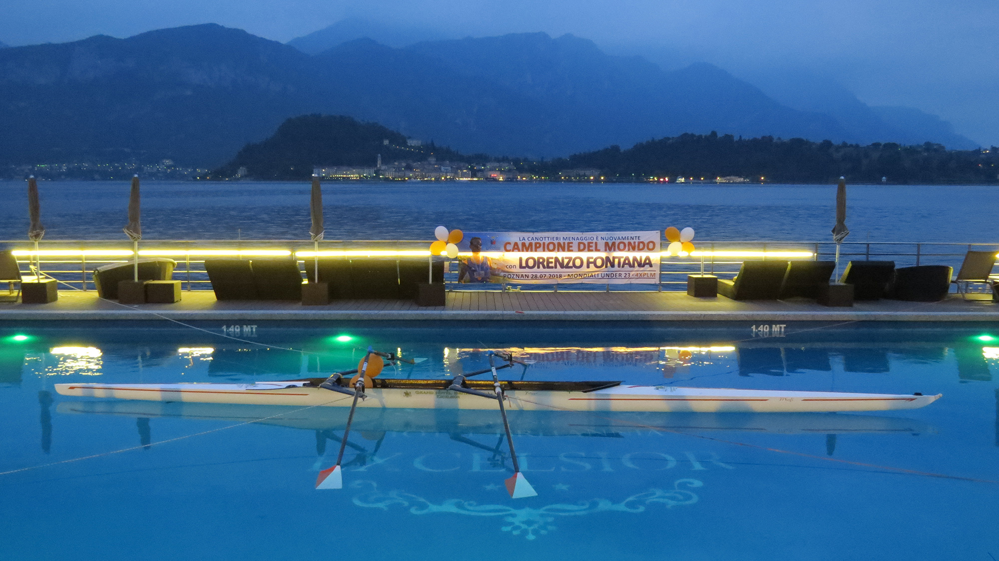 Canottieri Menaggio: secondo mondiale con Fontana