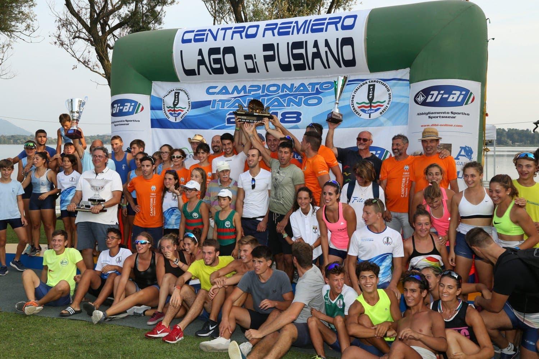 Canottieri Osteno: 4 titoli, compreso l'ambito Trofeo Giuseppe Sinigaglia