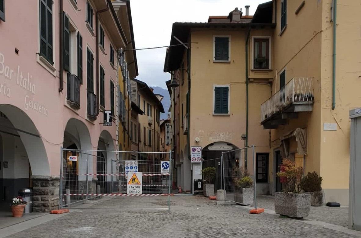 Il comune presenta la riqualificazione di Via Garibaldi a Porlezza