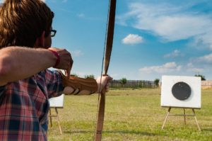 corso di tiro con l'arco