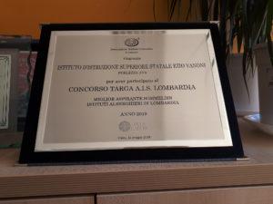 Miglior Sommelier Junior Lombardia