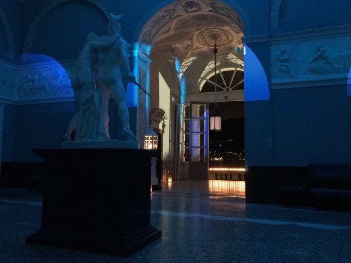 Luci e ombre a Villa Carlotta nella notte dei musei
