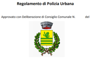 regolamento di polizia urbana