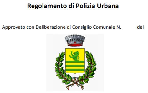 Porlezza: nuovo regolamento di polizia urbana. Parte 1