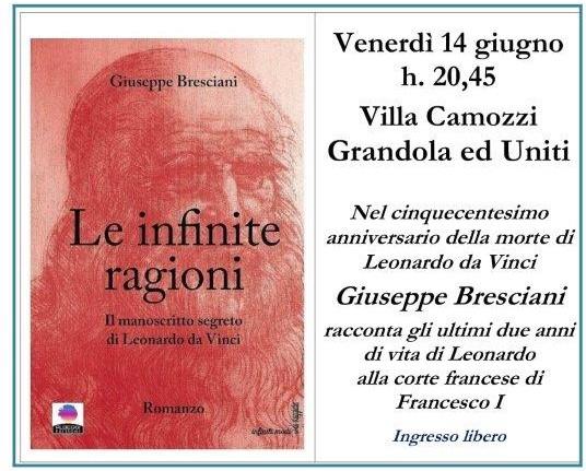 Giuseppe Bresciani presenta Le Infinite Ragioni