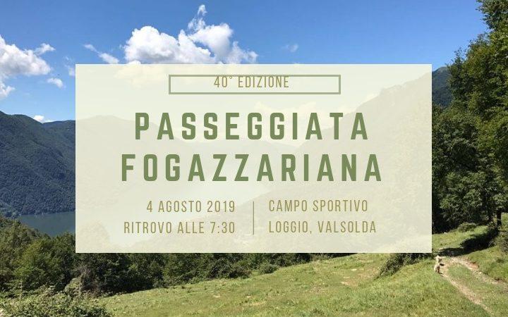 Passeggiata Fogazzariana 2019: la 40esima edizione