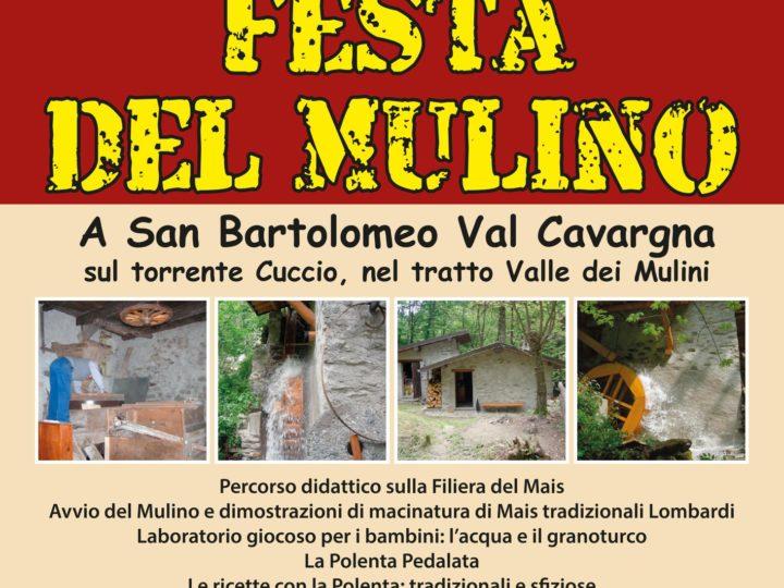 Festa del Mulino: domenica 28 a San Bartolomeo
