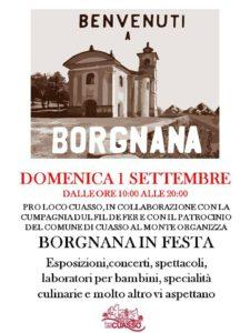 Feste a Montenegrino e Borgnana