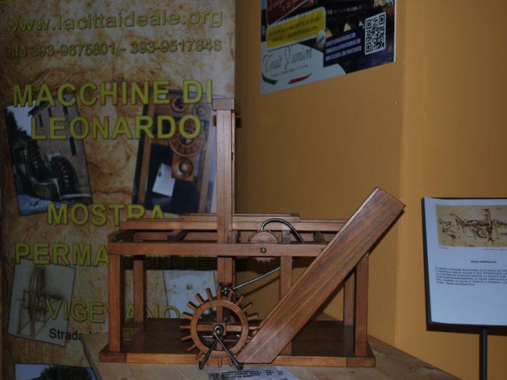 Le macchine di Leonardo a Dizzasco