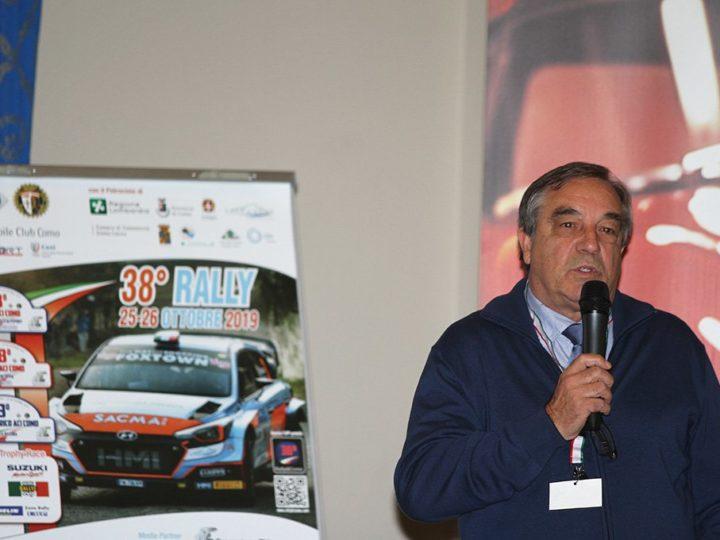 38° Trofeo ACI Como: 25 e 26 ottobre
