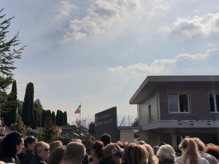 Inaugurazione Scuola Carlazzo: una grande festa fra le autorità