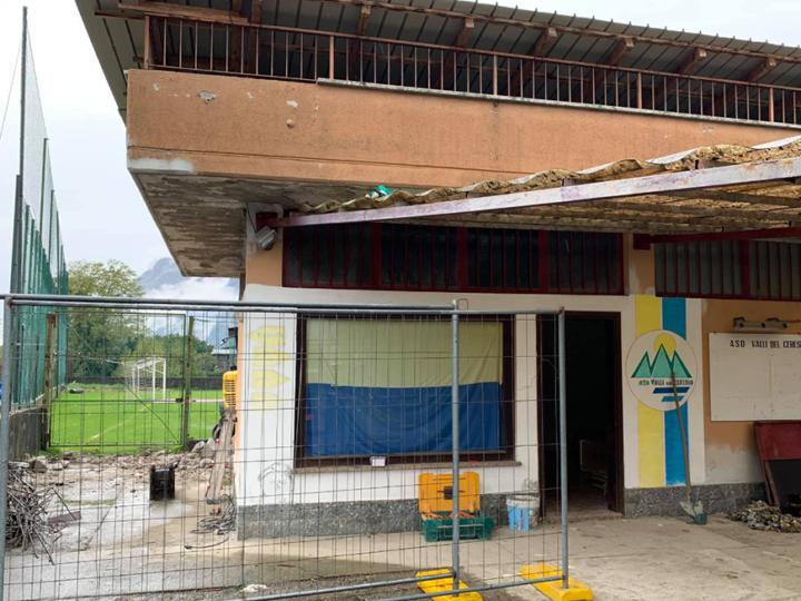 Carlazzo: campo sportivo di San Pietro e altri interventi
