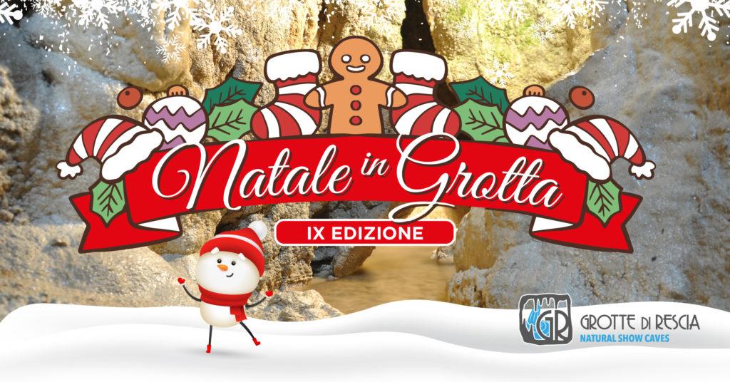Natale in Grotta sul Lago di Lugano