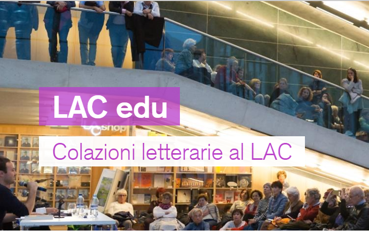 Colazioni letterarie al LAC. Al via la seconda edizione
