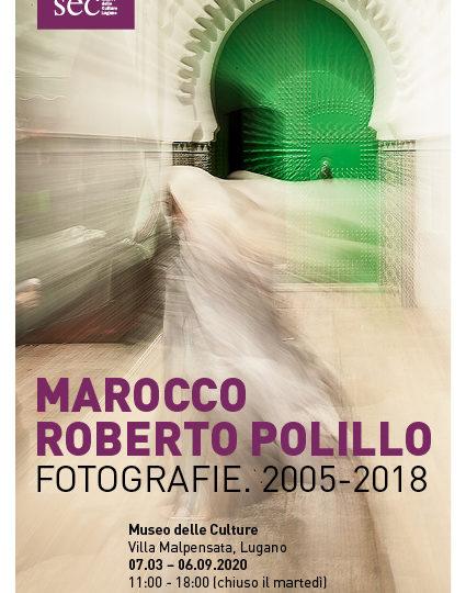 Roberto Polillo al Musec Lugano con le sue foto del Marocco