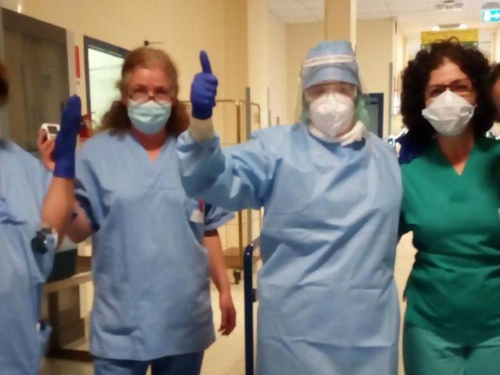 """Ospedale di Cuasso """"La nostra esperienza con i Covid+"""""""
