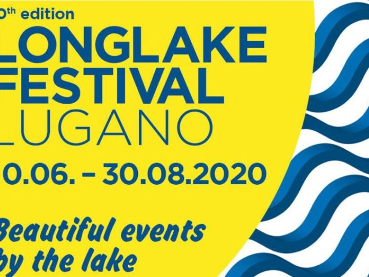 LongLake Festival Lugano 2020 anima l'estate ticinese