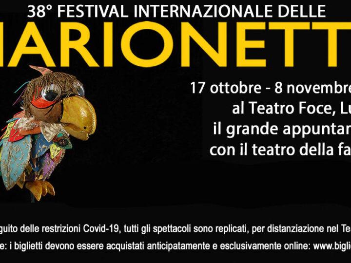 Festival internazionale delle Marionette 2020: a Lugano dal 17 ottobre
