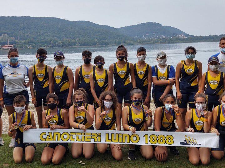 Canottieri Luino: 4 argenti e 6 successi