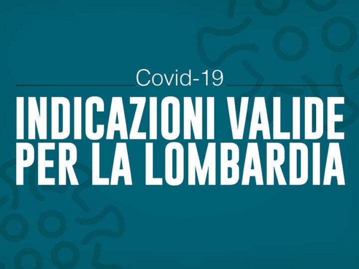 Autocertificazione e misure restrittive Covid Lombardia