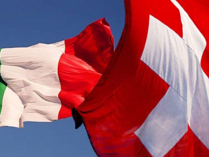 Nuovo accordo tra Italia e Svizzera