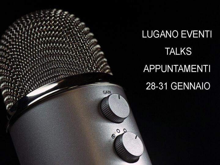 Talks: dal Ticino alcuni appuntamenti online