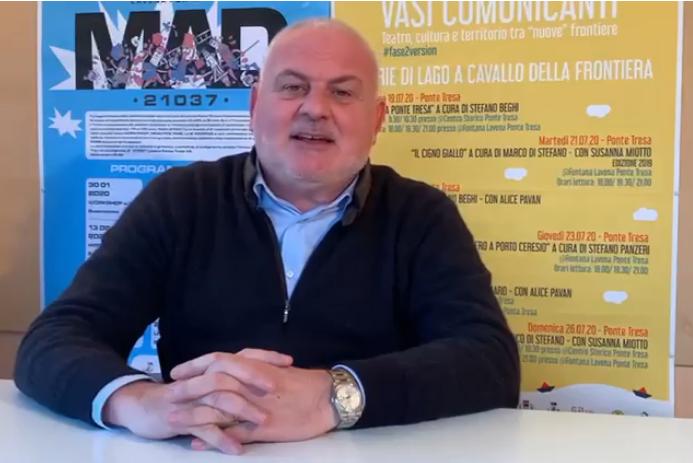 """Mastromarino: """"Mi ricandido"""". Il bis del sindaco a Lavena Ponte Tresa?"""