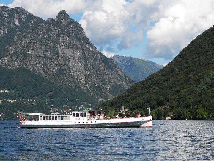 Navigazione Lago Lugano: l'incontro tra Ferrazzini e Fermi
