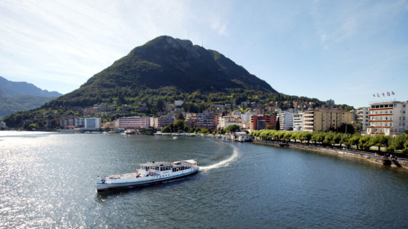 Orario 2021 della Società Navigazione Lugano