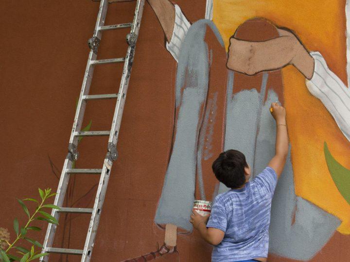 É di Seacreative il primo dei Muri Artistici 2021