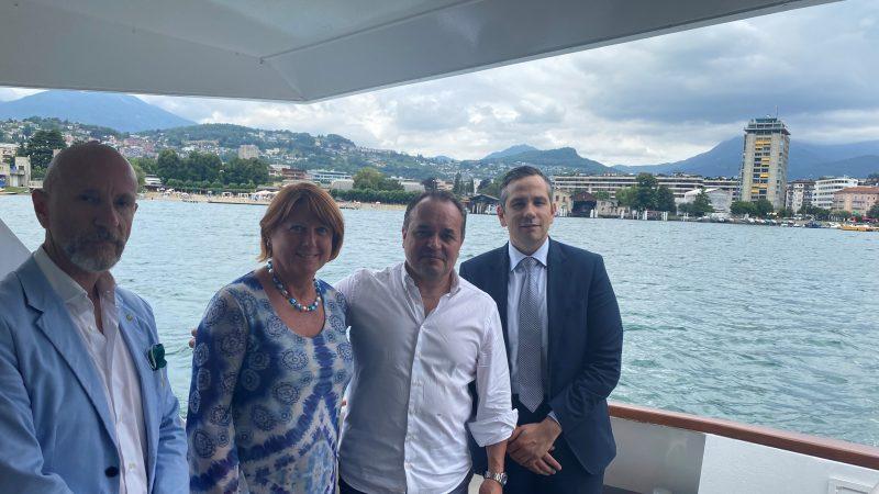 Lago di Lugano/Ceresio: navigazione, turismo ed ecologia