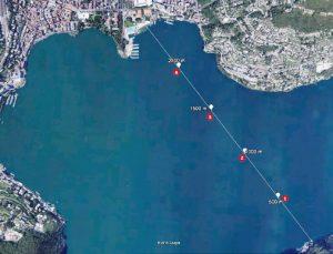 Traversata del Lago di Lugano